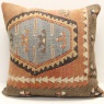 Anatolian Kilim Cushion Cover XL111