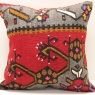 M976 Antique Anatolian Kilim Cushion Cover