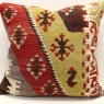 XL403 Antique Anatolian Kilim Pillow Cover