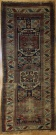 R7231 Antique Caucasian Kazak Carpet Runner