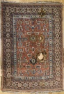 R3383 Antique Caucasian Perepedil Rug