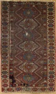R6992 Antique Kazak Rug