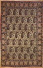 R7533 Antique Persian Qum Rug