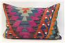 D267 Antique Turkish Kilim Pillow Cover
