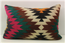 D275 Antique Turkish Kilim Pillow Cover
