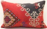 D396 Antique Turkish Kilim Pillow Cover