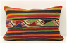 D397 Antique Turkish Kilim Pillow Cover