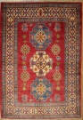 R8849 Beautiful Afghan Kazak Carpets