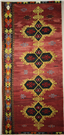 R7647 Beautiful Handmade Turkish Emirdag Kilim Rug