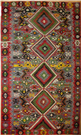 Beautiful Turkish Kula Kilim Rug R8027