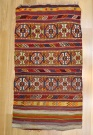 R9021 Beautiful Vintage Turkish Kilim Cicim Rugs