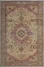 R4104 Vintage Tabriz Persian Carpet