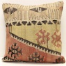 Hand Woven Kilim Cushion Cover M1408