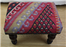 Hand Woven Kilim Foot Stool R4534