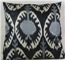 Handmade ikat pillow cover