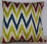 i19 Handmade ikat pillow cover