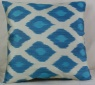 i37 Handmade ikat pillow cover