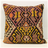 Large Turkish Kilim Cushion Cover XL346