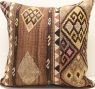 L622 Large Turkish Kilim Cushion Covers