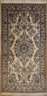 R8465 Persian Silk and wool Nain Rugs