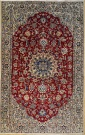 R8469 Persian Silk and wool Nain Rugs