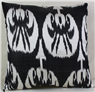i3 Silk Ikat cushion cover
