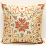 C32 Silk Suzani Cushion Cover