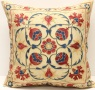 C72 Silk Suzani Cushion Cover