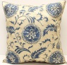 C76 Silk Suzani Cushion Cover