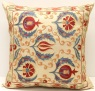 C73 Silk Suzani Pillow Cover