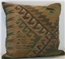 Turkish Traditional Wool Kilim Cushion Cover XL409