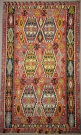 Vintage Large Turkish Kilim Rugs London  UK R7859