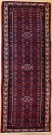 R9322 Vintage Persian Carpet Runner