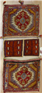 Vintage Turkish Carpet Saddle Bags R7952