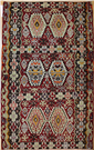 Vintage Turkish Esme Kilim Rug