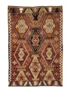R8199 Vintage Turkish Kilim Rug