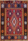 R8513 Vintage Turkish Kilim Rug